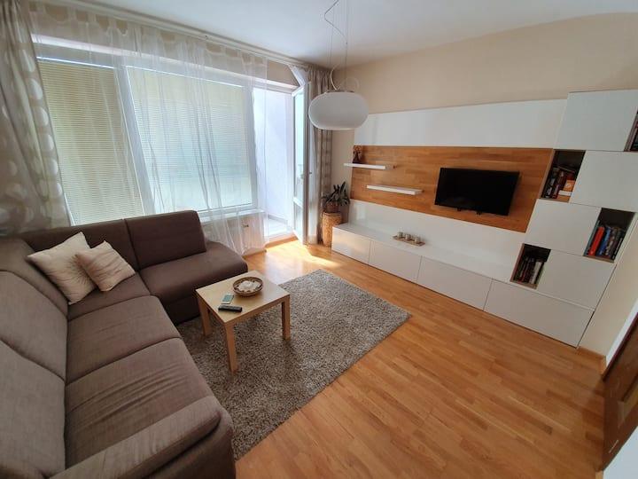 Beautiful, modern apartment in Bratislava