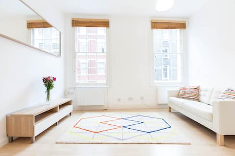 Bright 1 bedroom flat in Fitzrovia, Central London