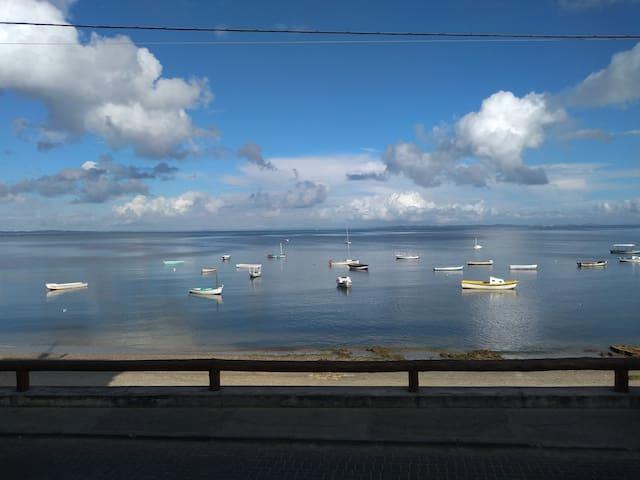 Sol, tranquilidade e Conforto a Beira Mar
