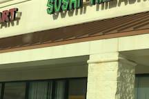 Sushi, Next to publix 0.8 miles