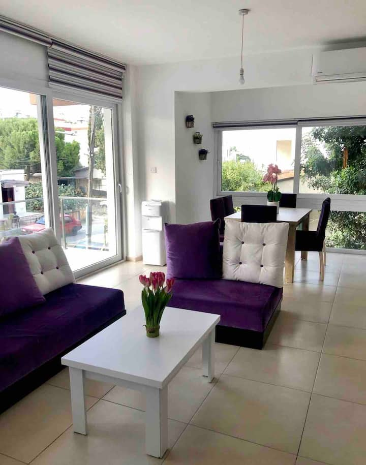 Entire, up to 3 bedroom in heart of nicosia
