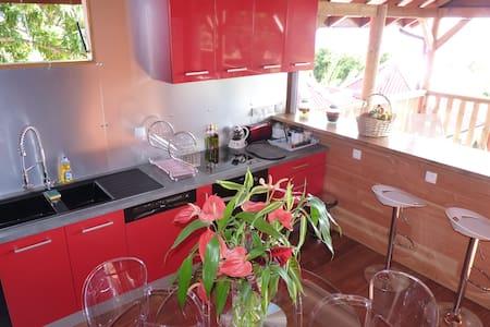 LAGALANTE Villa pour 2p avec Spa et vue sur mer - Villa