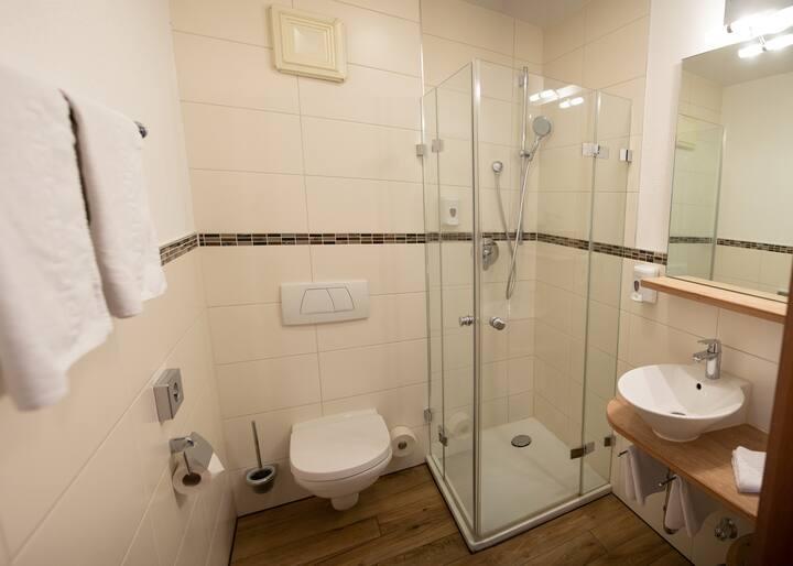 Zweibettzimmer-Standard im Hotel Falk