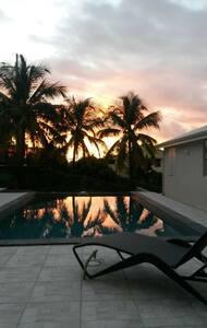 Gîte Papaye, Douceurs Caraïbes, Malendure. - BOUILLANTE  - Bungalow