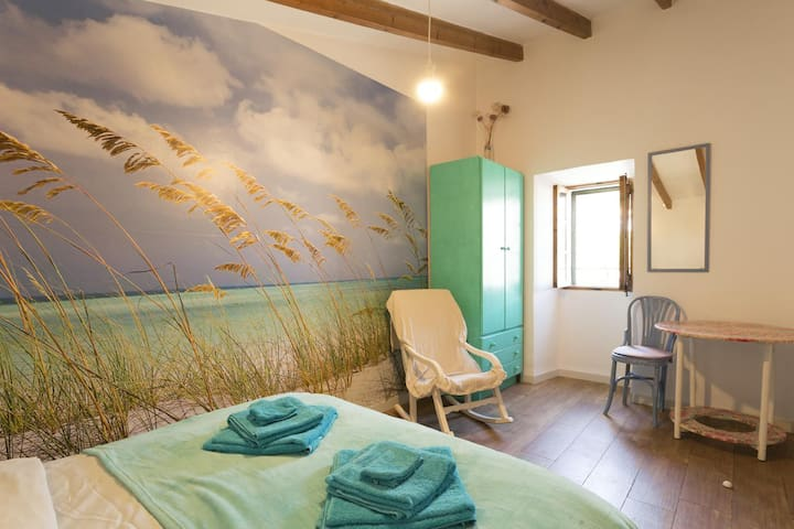 Beachroom in the middle of the island with WiFi - Biniamar - Apartamento