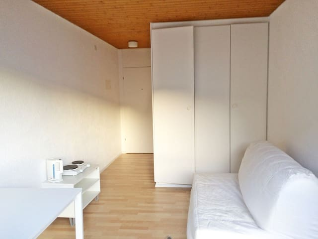 1/2 h from Zurich, bright&cozy mini-studio for 1-2 - Wollerau - Lejlighed