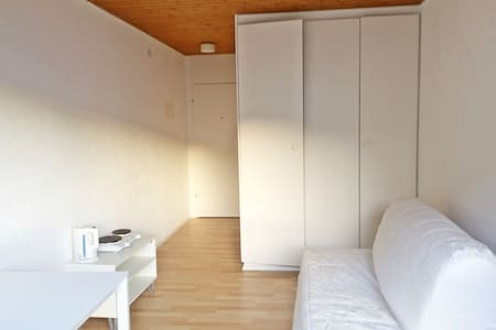 1/2 h from Zurich, bright&cozy mini-studio for 1-2 - Wollerau - 公寓