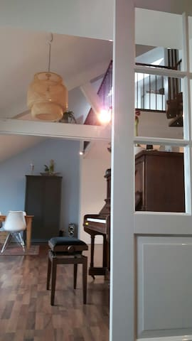 cosy apartment with roofterras - Uden - Appartement