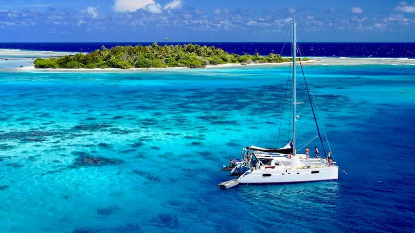 Croisière Catamaran Polynésie