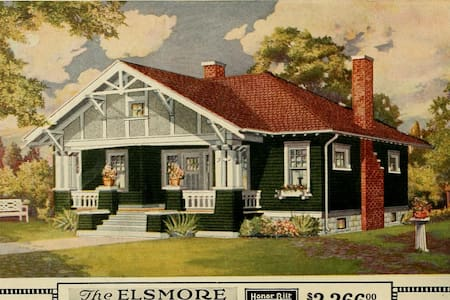 Welcome to the Elsmore;  A Sears kit home - Dayton - Bungalou