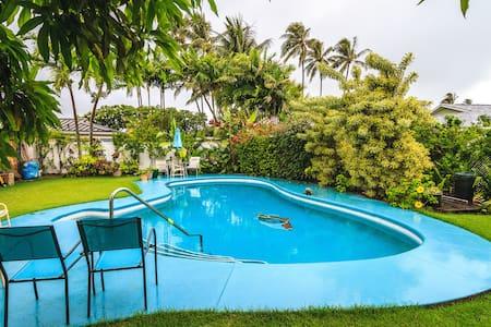 Tropical Garden Cottage - Kailua - Bungalov