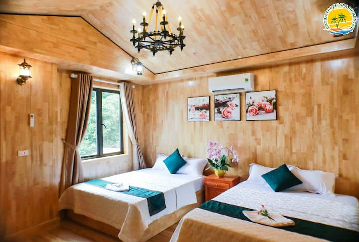 Spacious room with breakfast in Catba Center
