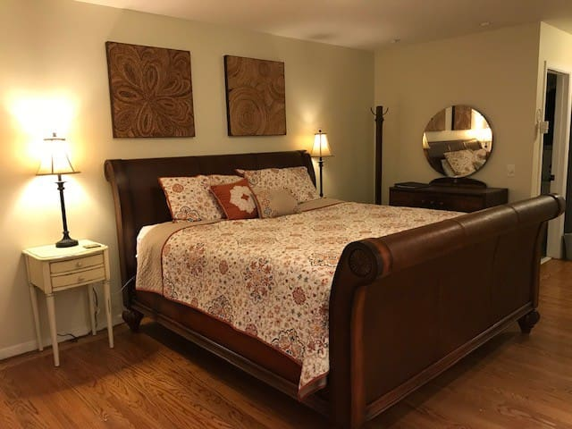 Private Master Suite, with separate entrance