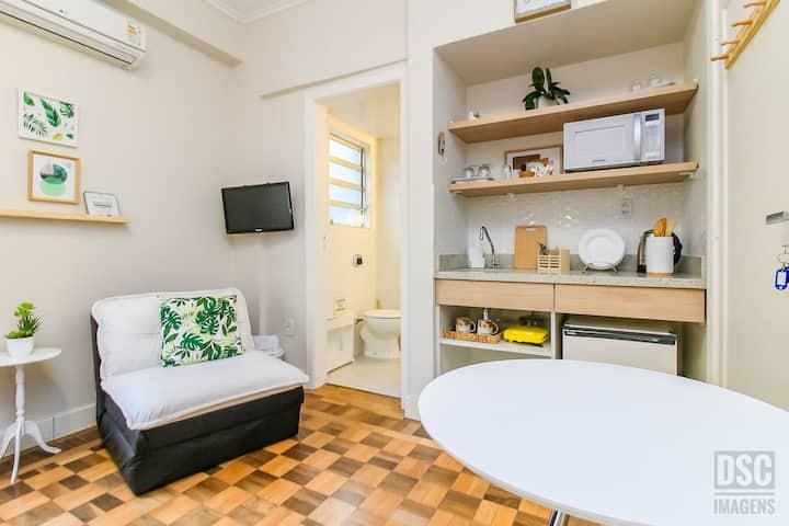 1004 Studio Lido, praticidade e conforto em POA!