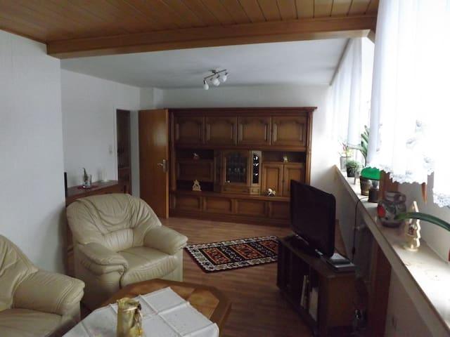 Große Ferienwohnung in der Nähe von Winterberg