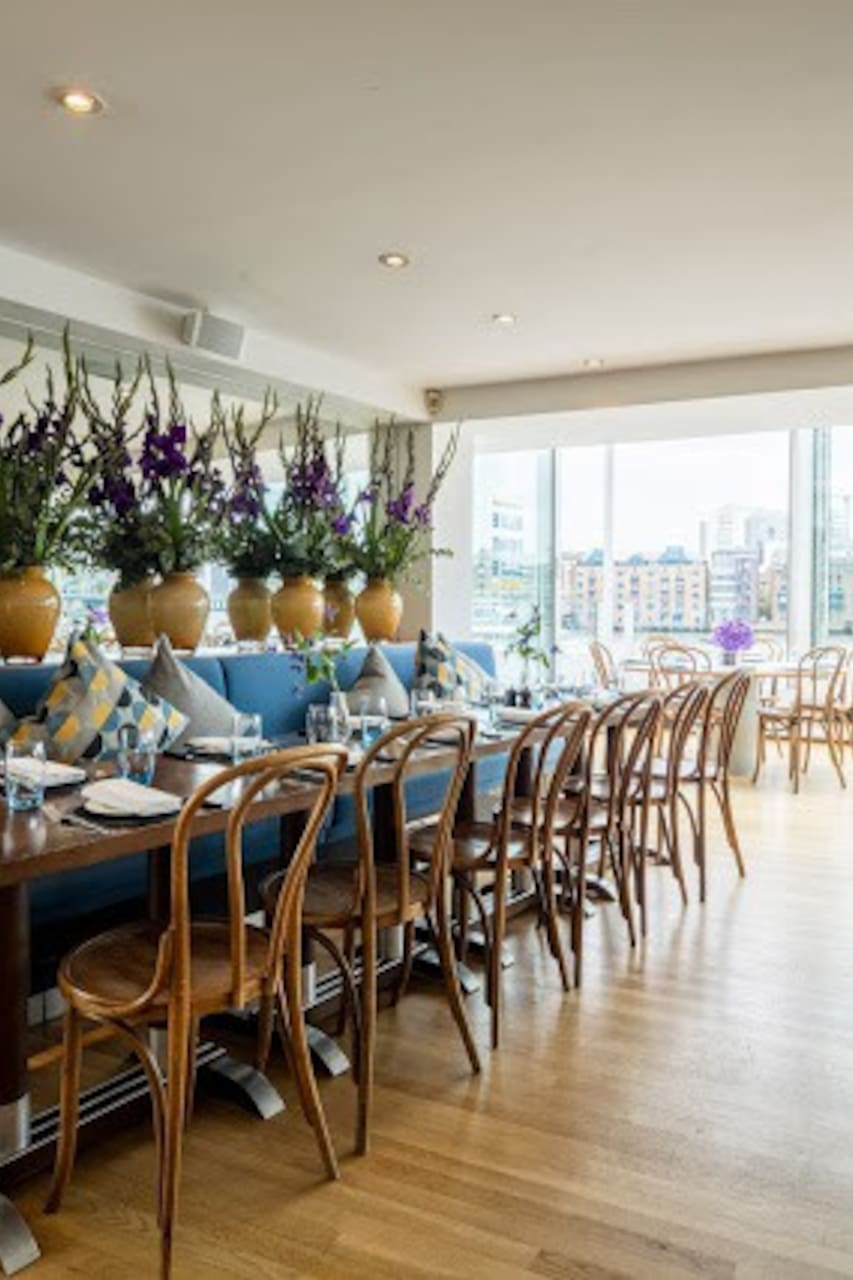 Blueprint caf restaurant restaurant in london airbnb malvernweather Images