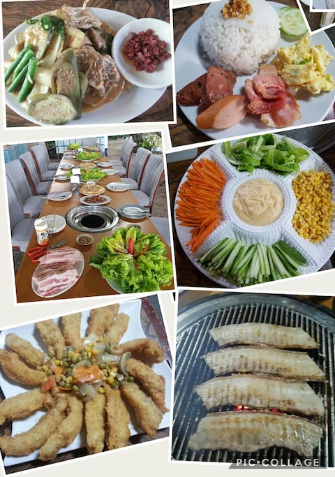 korean style barbeque( samgyeopsal)
