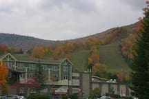 Slopes at Hunter Mountain where the Summer and Fall festivals happen