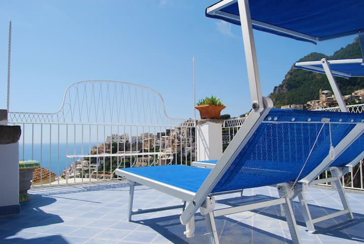 Sissy-Sea Views- Roof Terrace-Pool-Private Beach
