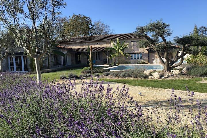Splendide maison en pierres à La Romieu