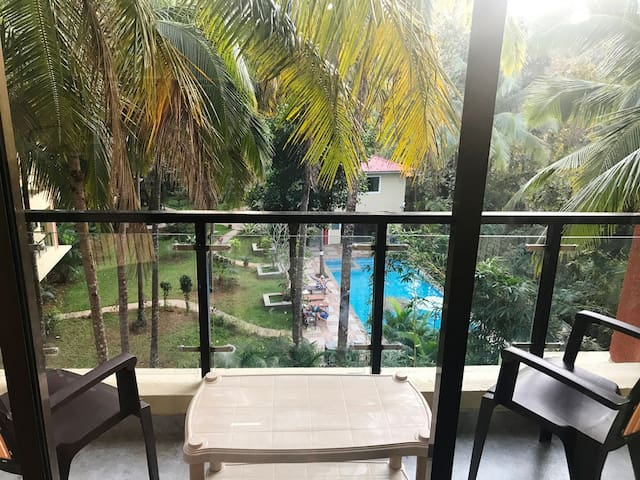 Apartment Equidistant to Palolem n Patnem Beach
