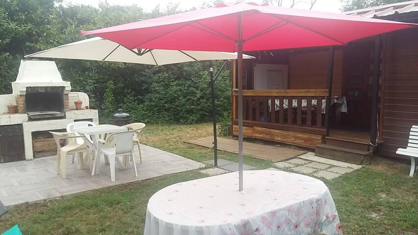 At CAZAUX, 33260 Charming cottage!