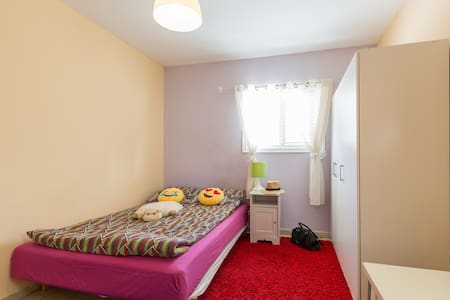 Central Kfar Saba - 1KM from train - private bath - Kefar Sava - Wohnung