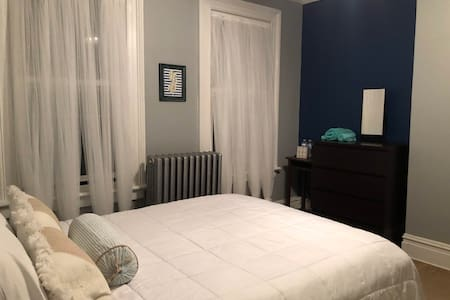 Bedroom in the heart of Red Bank - with parking !