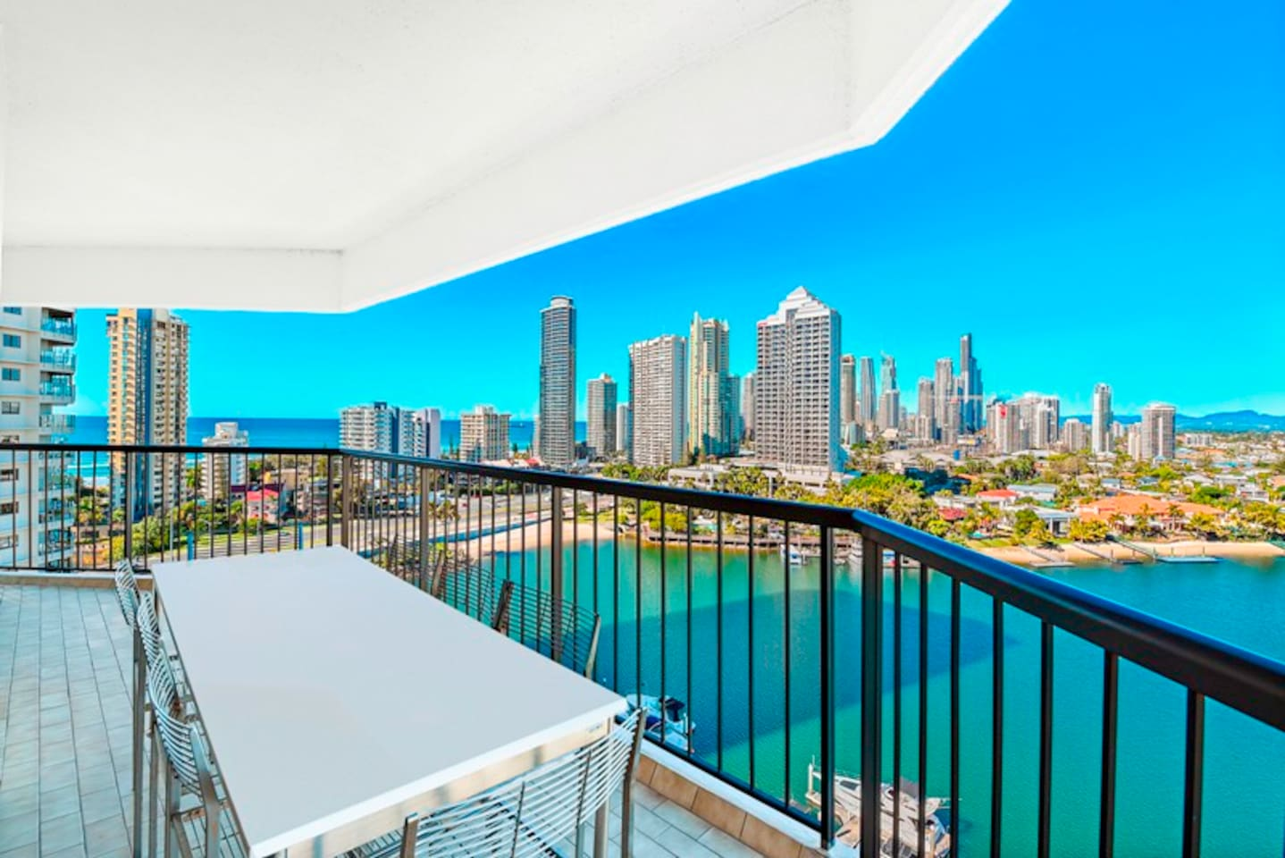 River, ocean & city views!