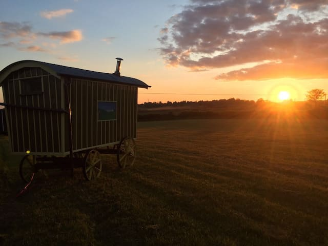 Shepherds Huts on the farm yet so close to Oxford. - Garsington - Hütte