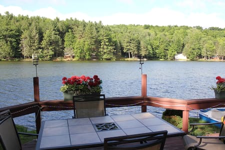 Cottage on Lake with paddle boat, fishing swiming - Columbia Cross Roads - Cottage