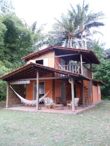 Cosy little house by beautiful beach in Boipeba. - Cairu - บ้าน