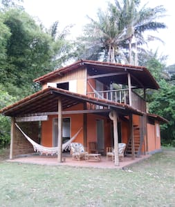 Cosy little house by beautiful beach in Boipeba. - Cairu - Casa