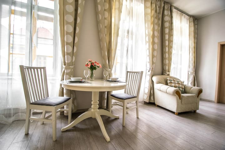Charming Charles Bridge 2room Suite