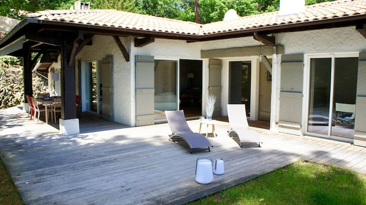 Villa with 4 bedrooms in Arcachon, with enclosed garden and WiFi - 650 m from the beach