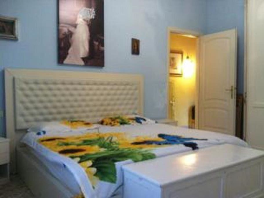 room #1 with king size bed