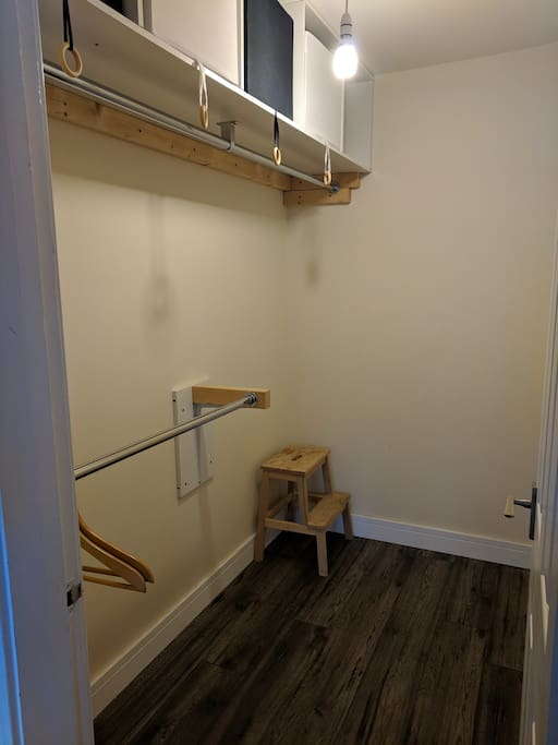 Private Dressing Room/Wardrobe