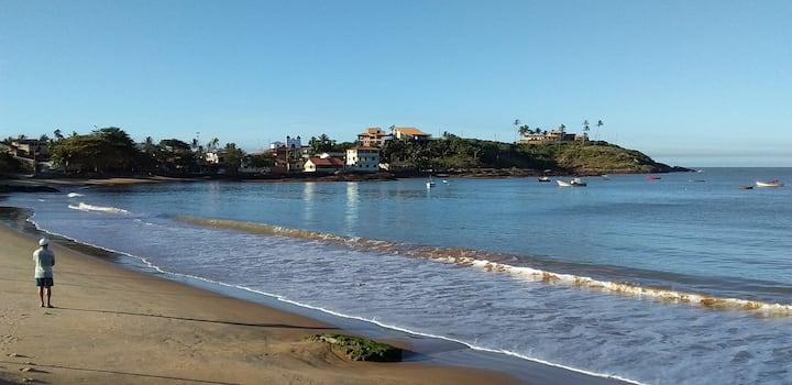 Verão em Meaípe sem aglomerações! Casa sítio praia
