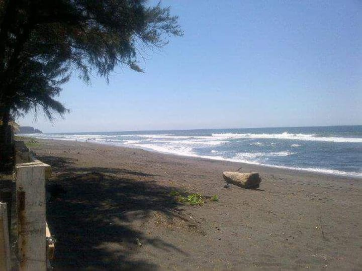 Beach front, Playa privada. Playa dorada sonsonate