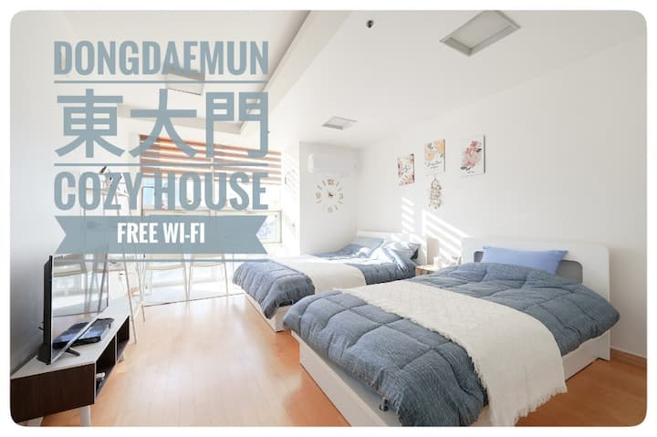 OPEN. 東大門Clean room with 2beds @Dongdaemun/Dongmyo
