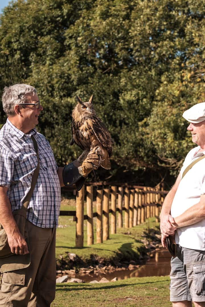 Meet and greet with Rod and his owls