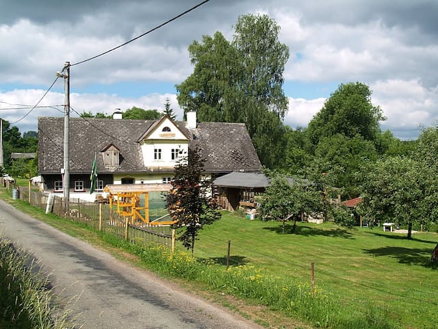 U Kostelnička, walking and cycling near Broumov