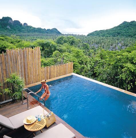 Villa in Tropical Island Paradise! - Tambon Wichit - Apartament
