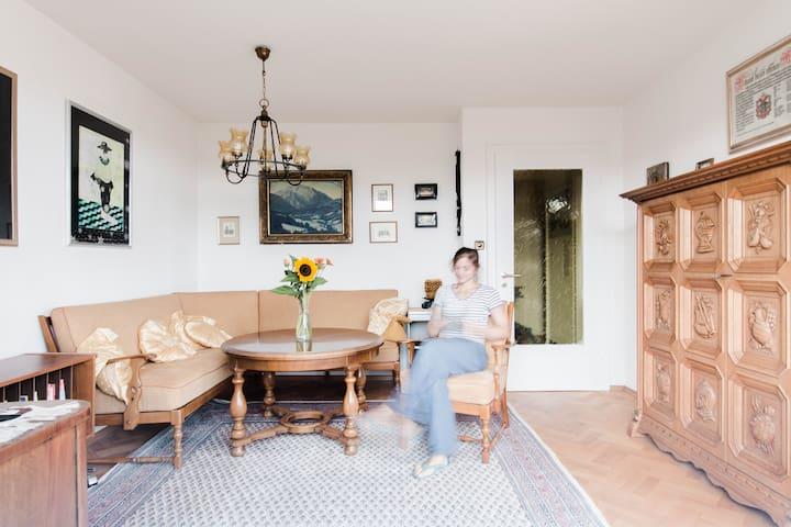 3,5 Zimmerwohnung in 1950er Villa - Markdorf - Apartment