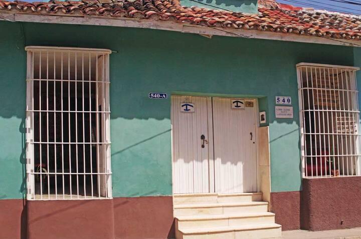 Casa Mireya ROOM 2 Centro Historico Trinidad/Vista