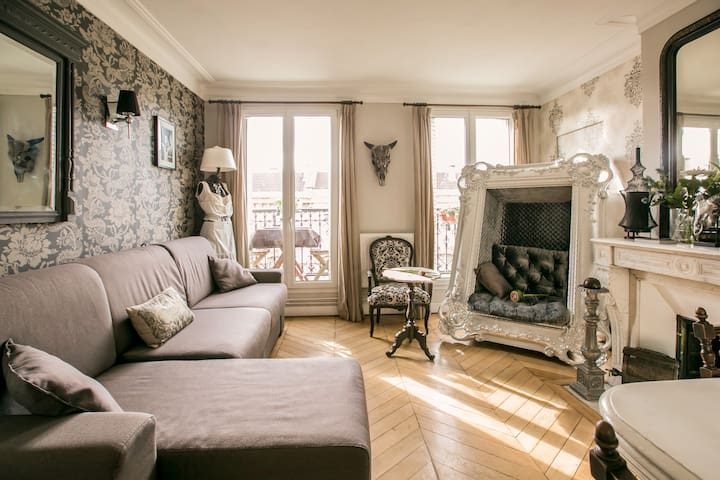 Superb flat 3 rooms, great location - Paris - Apartmen