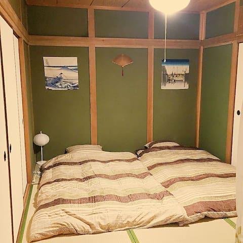 (202)大阪鶴橋一戶建日式房間 - 大阪市 - Bed & Breakfast