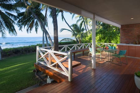 *Ocean Front*Puako*Old Hawaii at its Best*Pool/Spa*Amazing Ocean Sunset Views* - Kamuela