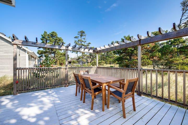 Dog-friendly home w/ wrap-around deck & grill - blocks to the beach!