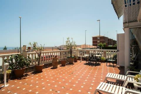 Najlepší výhľad na more (20 minút do Barcelony)